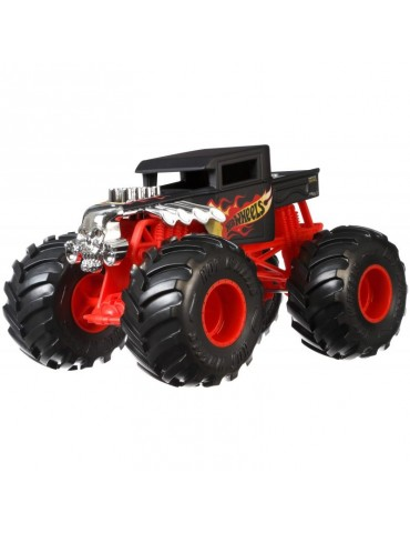 Hot Wheels Monster Trucks Metalowy Pojazd Bone Shaker Skala 1:24