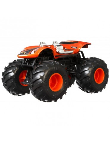 Hot Wheels Monster Trucks Metalowy Pojazd Twin Mill Skala 1:24