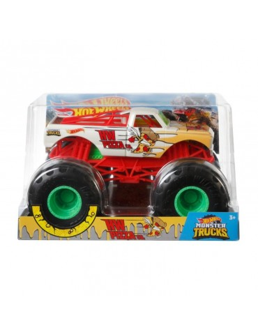 Hot Wheels Monster Trucks Metalowy Pojazd HW Pizza co. Skala 1:24