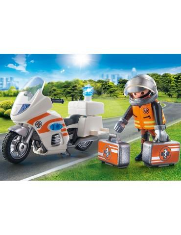 Playmobil Motocykl ratowniczy ze światłem