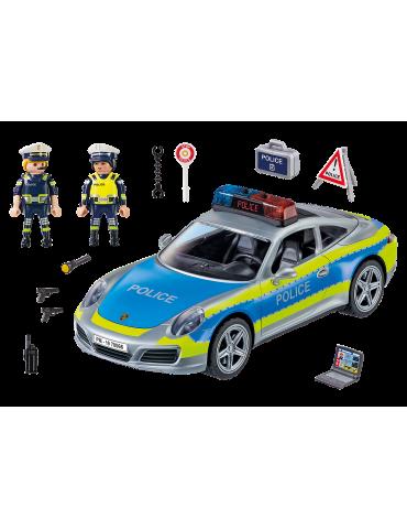 Playmobil Porsche 911 Carrera 4S Policja