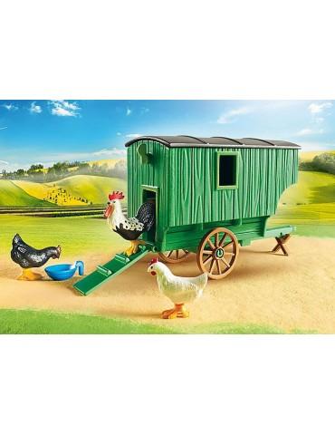 Playmobil Mobilny kurnik