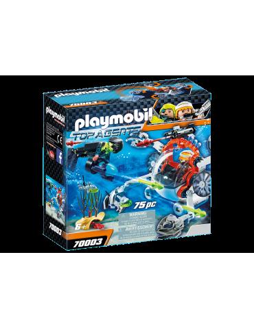 Playmobil SPY TEAM Łódź podwodna