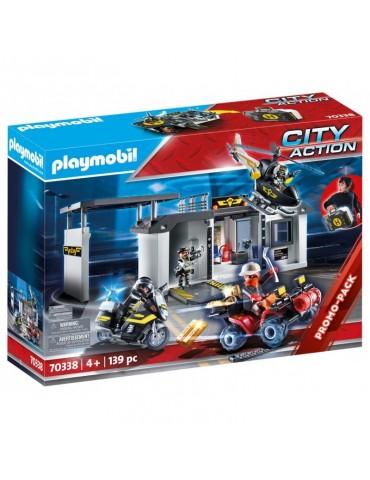 Playmobil Przenośna centrala jednostki specjalnej Edycja limitowana