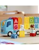 Lego Ciężarówka z alfabetem DUPLO