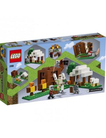 Lego Minecraft Kryjówka rozbójników