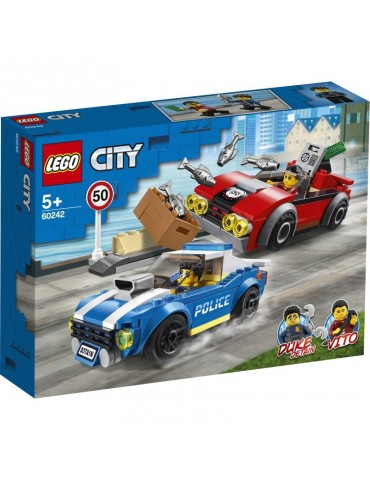 Lego City Aresztowanie na autostradzie