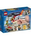 Lego City Helikopter strażacki leci na ratunek