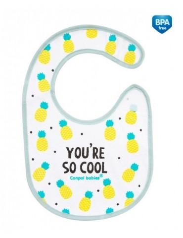 Canpol babies śliniak nieprzemakalny z frotte So Cool/so sweet