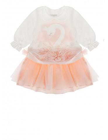 Sukienka niemowlęca bawełniana Adrianna 62-74 Sofija