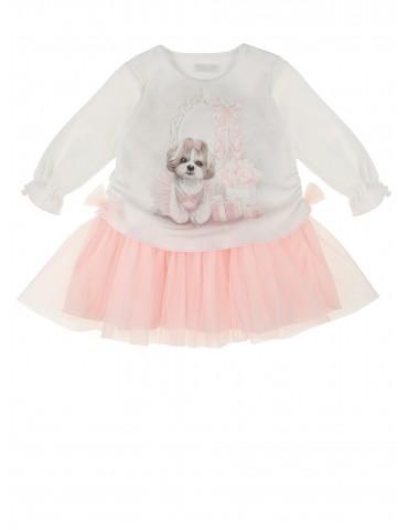 Sukienka niemowlęca bawełniana Dafne 62-74 Sofija