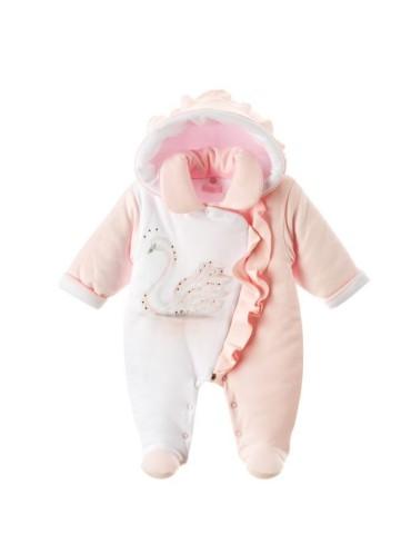 Pajac niemowlęcy ocieplany Amira 56-62 Sofija