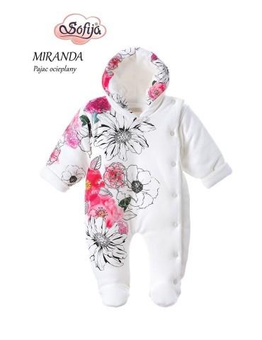 Pajac niemowlęcy bawełniany ALA 56-98 10007