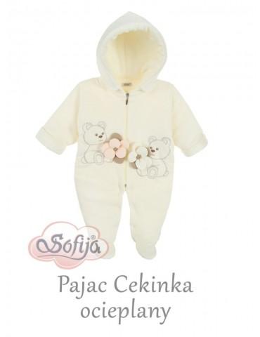 Pajac niemowlęcy ocieplany Cekinka 56-62 Sofija