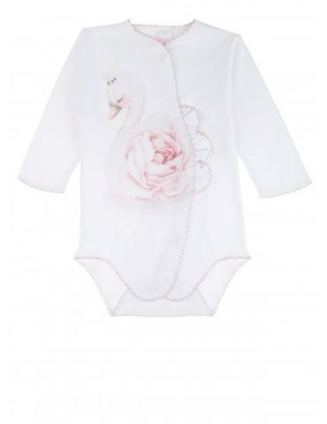 Body niemowlęce bawełniane długi rękaw Malwinka 56-62 Sofija