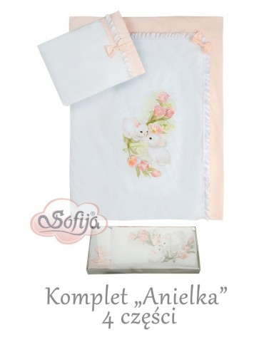 Sofija Komplet pościeli 4-elementowy Anielka
