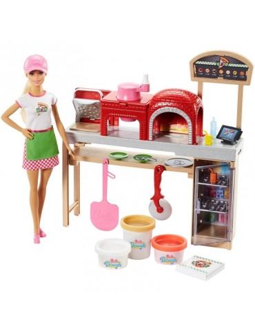 Barbie Zestaw Pizzeria i lalka