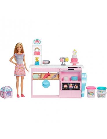 Barbie Pracownia Wypieków zestaw i lalka