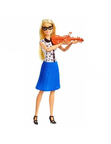 Barbie Lalka Nauczycielka muzyki z uczennicą z Akcesoriami