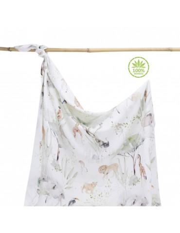 Makaszka Otulacz 100% Bamboo 100x120cm