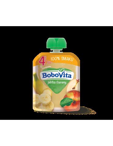 BoboVita Mus owocowy jabłka i banany