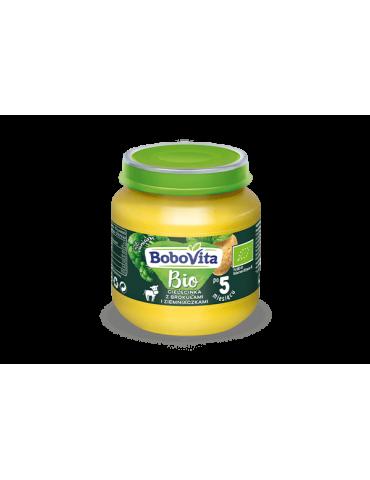 BoboVita Cielęcinka z brokułami i ziemniaczkami 125g