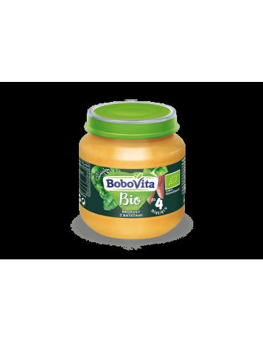BoboVita Bio Brokuły z batatami 125g