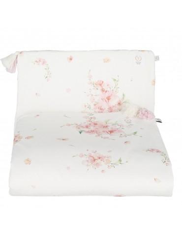 Yosoy Organiczna pościel z chwostami organic cotton Japanese Flowers