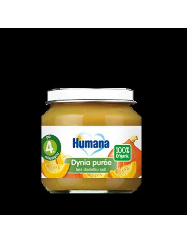 Humana 100% Organic dynia puree