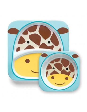 Skip Hop Zestaw obiadowy zoo Żyrafa