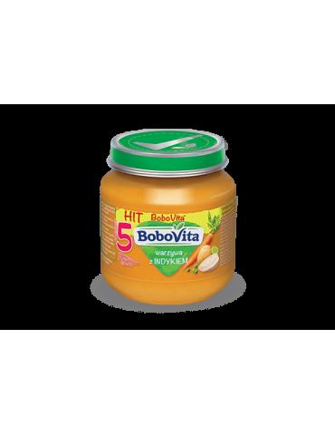 BoboVita Warzywa z indykiem 125g