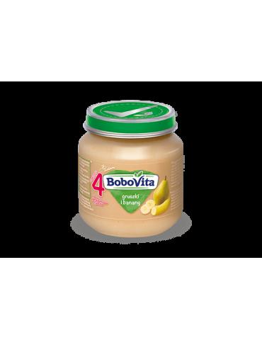BoboVita Gruszki i banany 125g