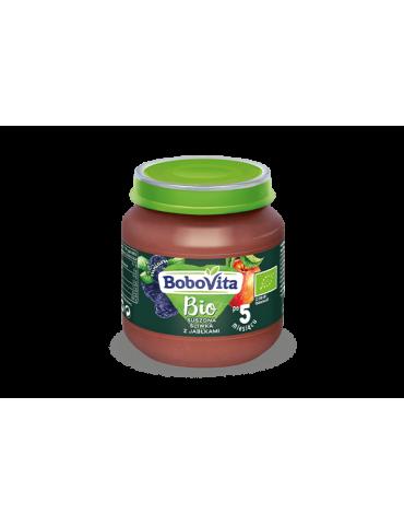 BoboVita Suszona śliwka z jabłkami Bio 125g