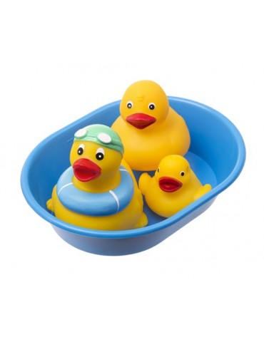 Tullo Zwierzątka do kąpieli w wanience 3 szt.