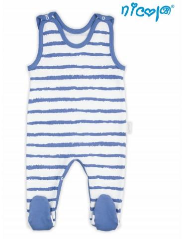 Śpioch niemowlęcy bawełniany LEO 56-74 Nicola