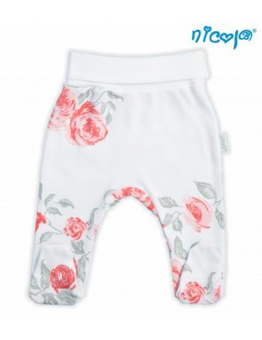 Nicol Półśpioch niemowlęcy bawełniany RÓŻA 56-74