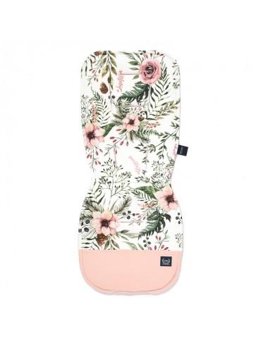 Wkładka do wózka Stroller Pad Velvet La Millou (Wild Blossom Velvet Power Pink)