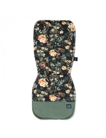 Wkładka do wózka Stroller Pad Velvet La Millou (Blooming Boutique Noir Velvet Khaki)
