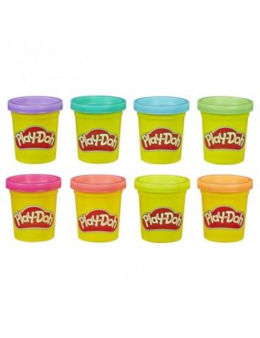 Play Doh Ciastolina Tuby 8 Pak neonowych kolorów