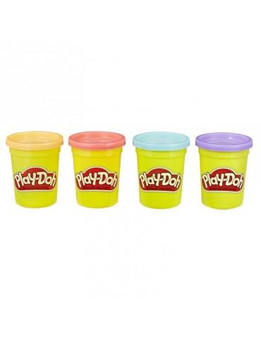 Play Doh Tuby uzupełniające 4-pak Sweet