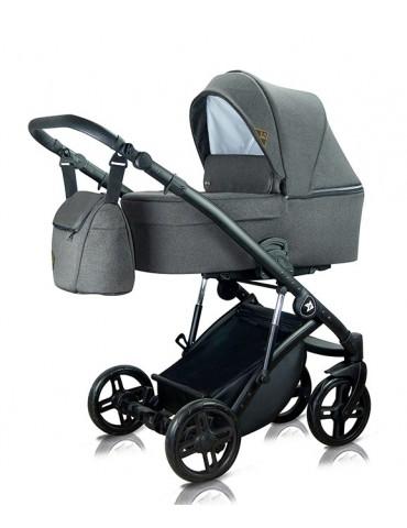 Milu Kids Atteso 04 wózek głęboko-spacerowy ciemny szary