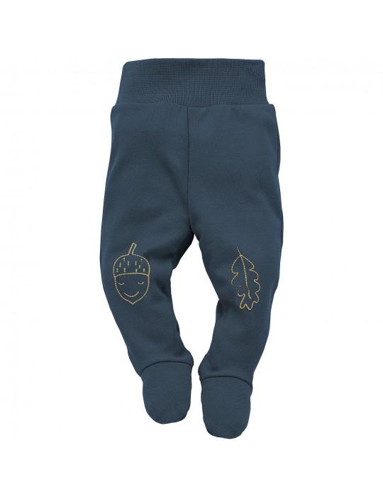 Pinokio Półśpioch niemowlęcy bawełniany granat Secret forest 56-68