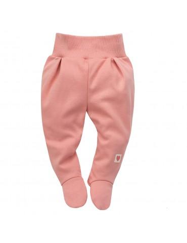 Pinokio Półśpioch niemowlęcy bawełniany różowy Spring light 56-74