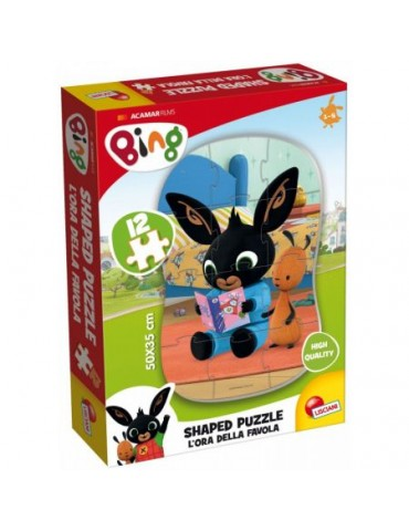 Lisciani Puzzle Bing 12 elementów 1+