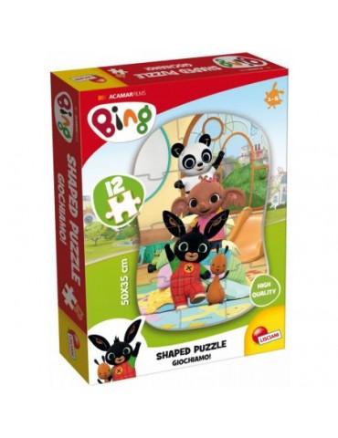 Lisciani Puzzle Bing i przyjaciele 12 elementów 1+
