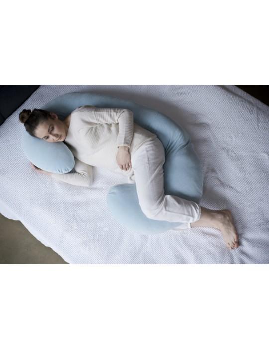 Motherhood Kojec dla kobiet w ciąży Premium classic niebieski