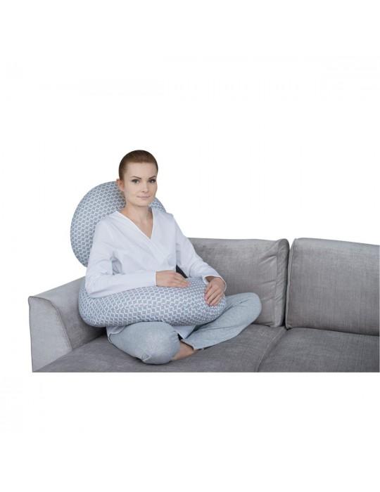 Motherhood Kojec dla kobiet w ciąży classic szary