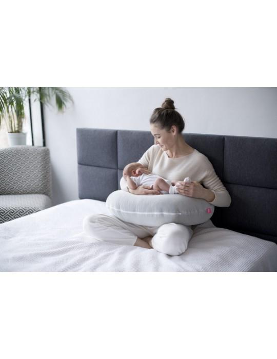 Motherhood Poduszka Fasolka Premium classic szary