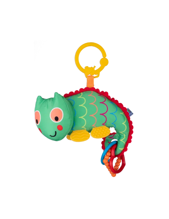 Dumel Zawieszka Kameleon dzwoneczek BaliBazoo