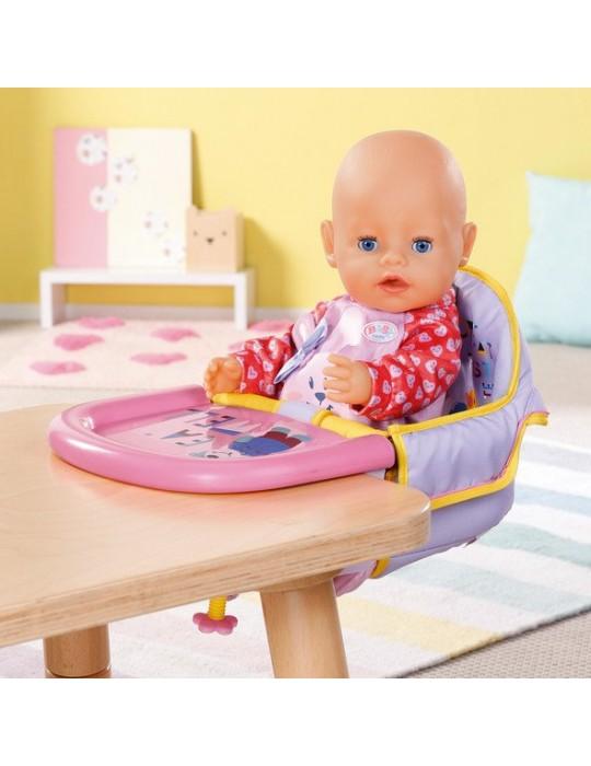 Baby Born krzesełko do karmienia przy stole